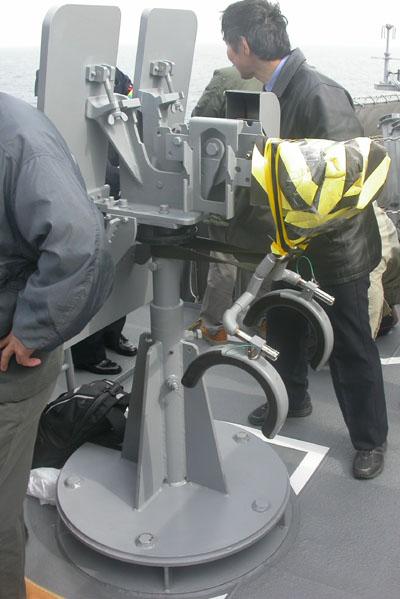 12.7mm機銃架